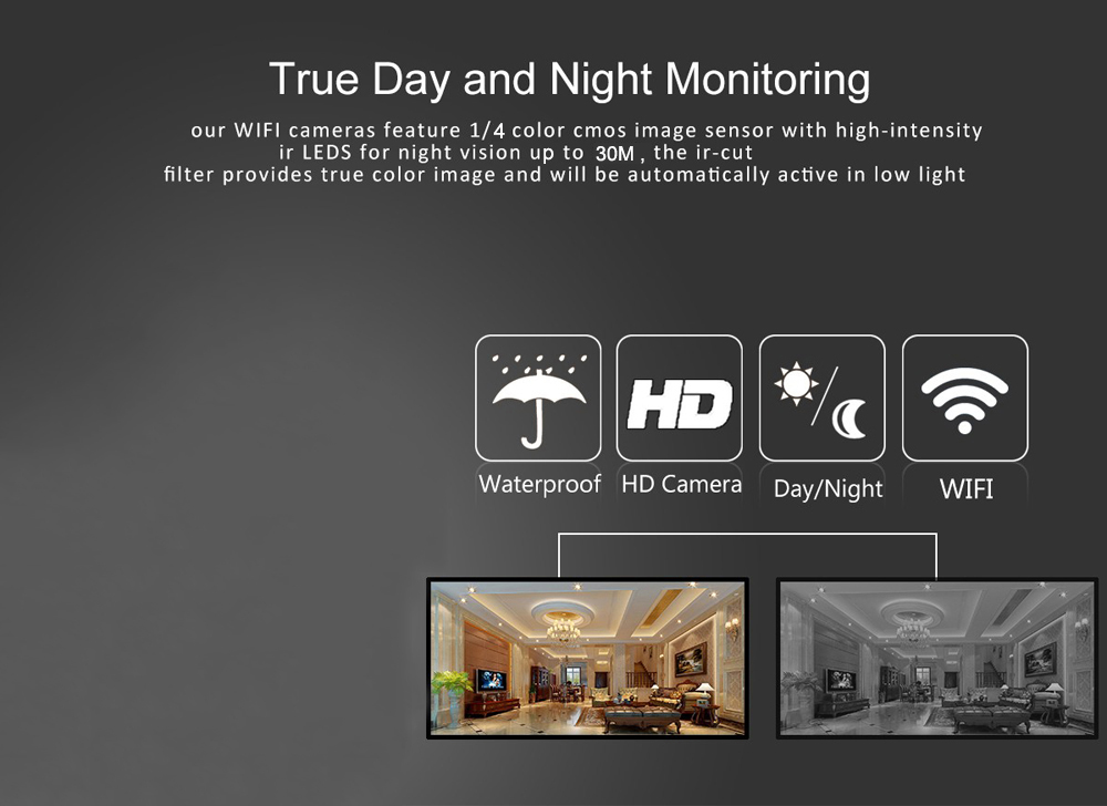 Hot Promotion !!High definition 4CH NVR KIT 720P 1MP network wifi ip66 camera ip wifi outdoor