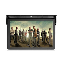 "metal shakeproof casing 19"" inch coach metro Bus video monitor with HDMI AV VGA USB input"