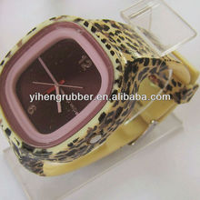 2013 Hot sell silucone sweet jelly watch for promotion