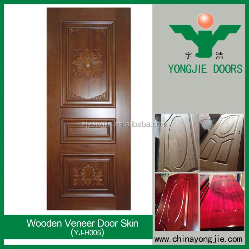 Natural Mahogany Crotch Veneer For Door Skin