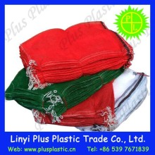 pp net circular /tubular mesh bags for vegetable,fruit