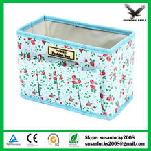 Multi-Function Non-woven Fabric Folding Make Up Cosmetic Storage Bag Box