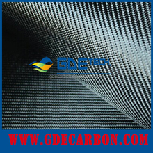 colored silver 3K plain carbon fiber cloth mixed metallic yarn fireproof carbon fiber fabric