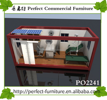 steel structure sandwich panel prefabricated cabin/container house/porta house