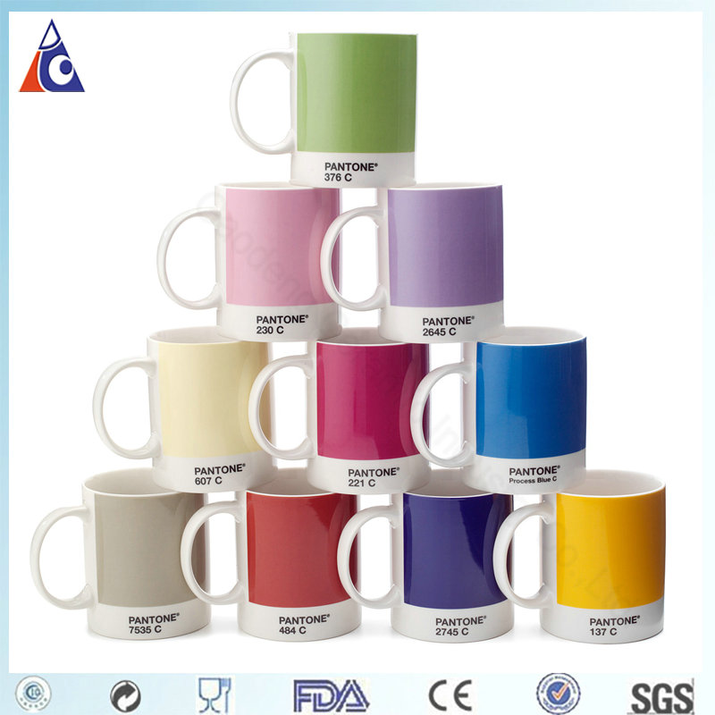11oz pantone coffee ceramic mug,cofee mug