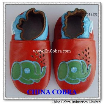 top quality soft sole genuine leather baby shoes