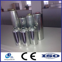 Aerosol Tinplate Can for Hair Spray with Gold Coating Internal lacquer