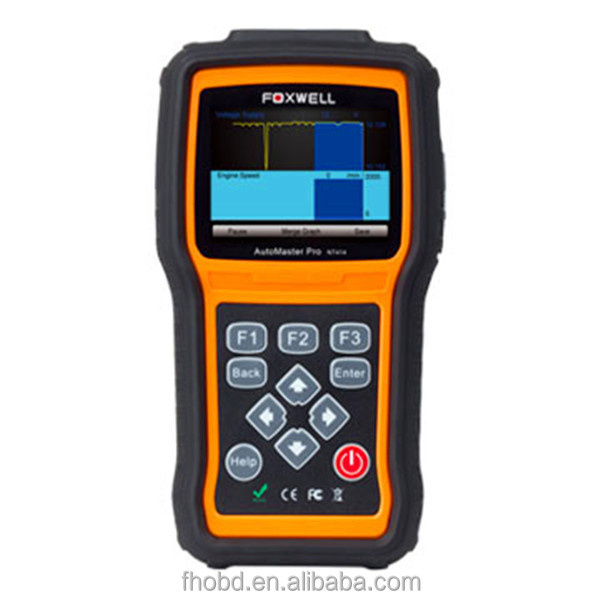 Foxwell NT414 OBD2 code reader Scanner Support ECU, ABS, Airbag and Transmission diagnose