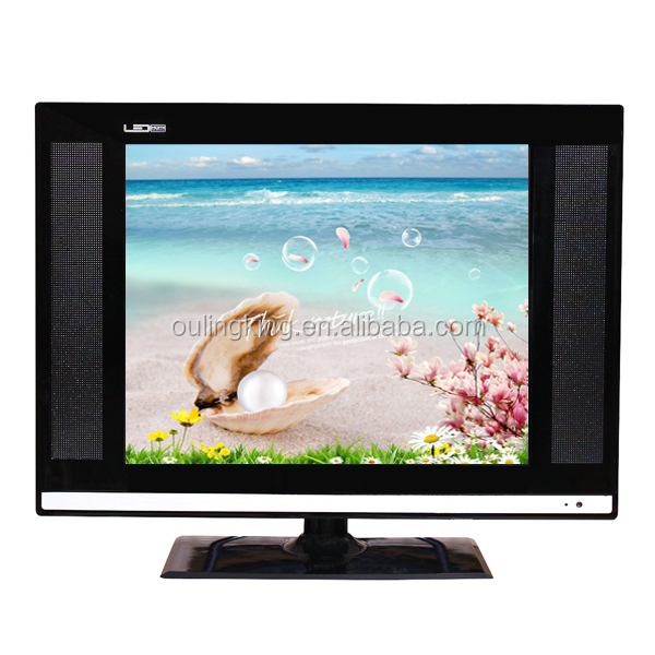 15inch led tv panel and led tv wall unit for 12v dc led tv