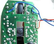 2 layer computer mouse pcb with HASL surface PCB assembly service