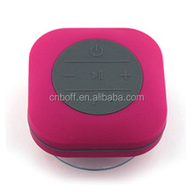 Foreign selling waterproof Bluetooth speaker wireless bathroom sucker car handsfree phone mini stereo subwoofer
