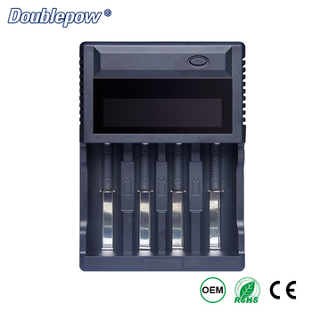 4 Slots Multifunctional Charger for AA/AAA Ni-MH cells / 3.7V 18650,16340,21700,18500 Lithium Battery