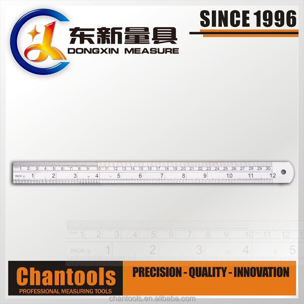 [CHANT] 30cm Stainless Steel Ruler/Metal Ruler
