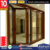 AS2047 frame aluminum wood composite doors with double glass companies