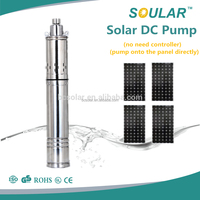 DC Solar 2 inch submersible deep well borehole water pump ( no need Controller )