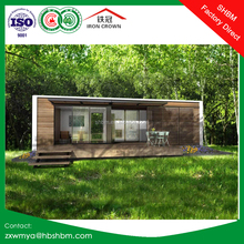 Light Steel Frame 20ft Container House Portable prefab house for Villa Office, Home