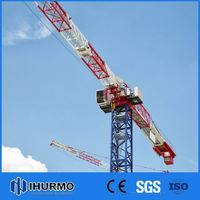 Hot sale vertical lift up mechanism 6 ton construction machinery/tower crane