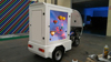 Shanghai outdoor digital mobile billboard motorcycle for sale,led screen motorcycle for rental