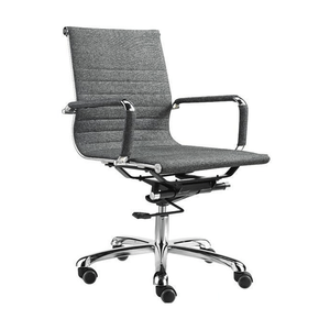 Good conference full fabric client/staff grey color office chairs(F15-B)