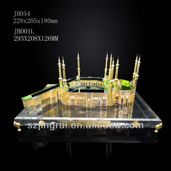 nice design holy makkah mosque model