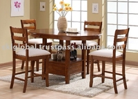 dining set , table , parson chair , dining room , solid wood , mdf , malaysia furniture , Dining Set - Austin