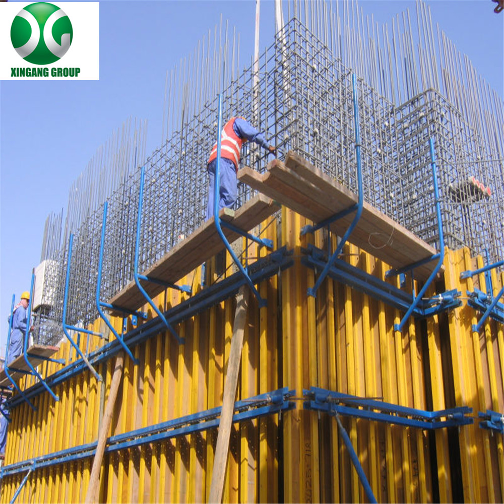 wall formwork for concrete pouring