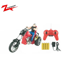 40Mhz rc mini motorcycle toy 3 rounds stunt car