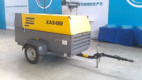 Atlas Copco XAS 137 Diesel Industrial Portable air compressor