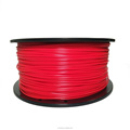 Dimensional Accuracy +/-0.02mm 2.2 LBS 1KG Spool Red 1.75 mm PLA 3D Filament for Most 3D Printer 3D Printing Pen