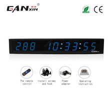 [GANXIN]Electronic Led Digital Days Hours Minutes Timing Clock Indoor Led Counter with Date Time Display