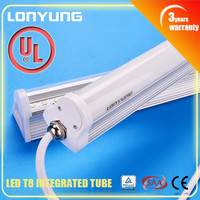Quality! 60cm/2ft 9W IP65 LED Waterproof T8 Integrated Tube Light solar powered waterproof led strip lighting