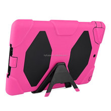 Armor Case for iPad 5,For Apple iPad Air Tablet Hybrid Kickstand Shock Wave Case