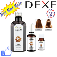 Private label organic hair Dexe argan oil whole for hair care