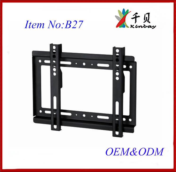 "small TV Wall Mount TV Bracket Stand with Shelf for 26-55"" Flat Screens TV, LED LCD Plasma TV, Fits up to VESA 200*200mm"