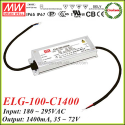 Meanwell ELG-100-C1400 0-10v dimming led driver