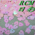 Durable Heart PET/PVC Sequins Spangle For Valentine Decoration