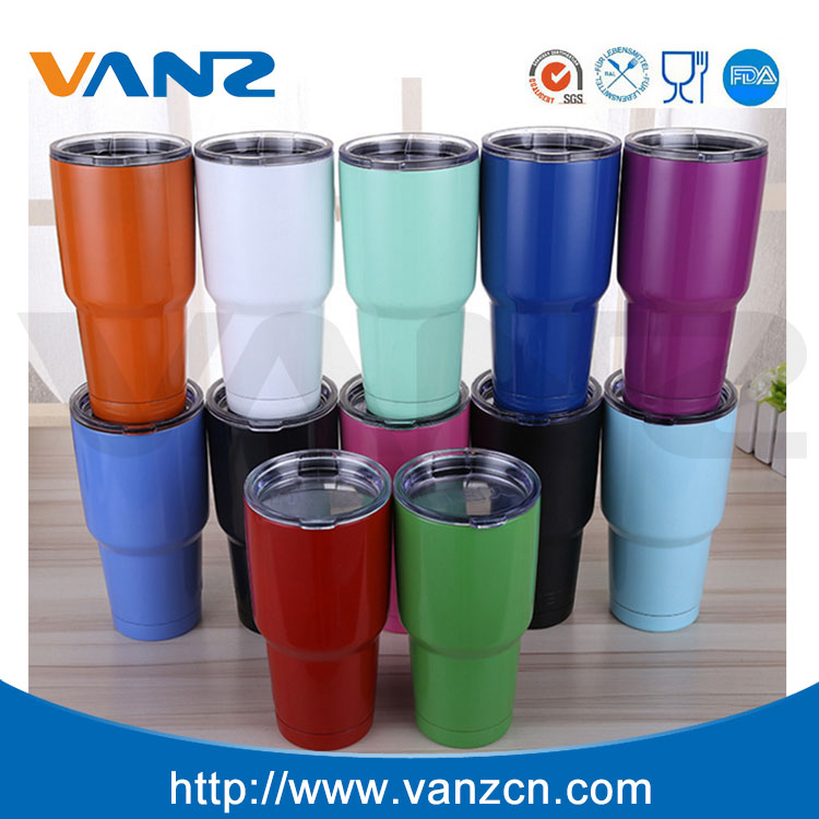 30oz Vacuum Insulated Stainless Steel Thermos cups Travel Mug Tumbler Cup
