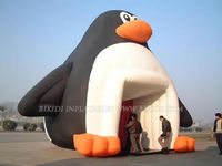 inflatable giant penguin, inflatable cold air balloon for sale K2027