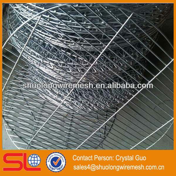 Food Grade Stainless steel 201 circle barbecue wire mesh