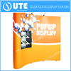 Promotional advertising trade show display stand