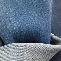 7.8OZ super stretch twill woven denim fabric with slub