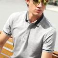 latest fashion design OEM service golf man polo shirt dry fit