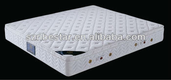 High quality spring vacuum compressed mattress