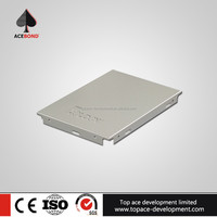 Colorful aluminum ceiling tiles 600x600 apply to airport