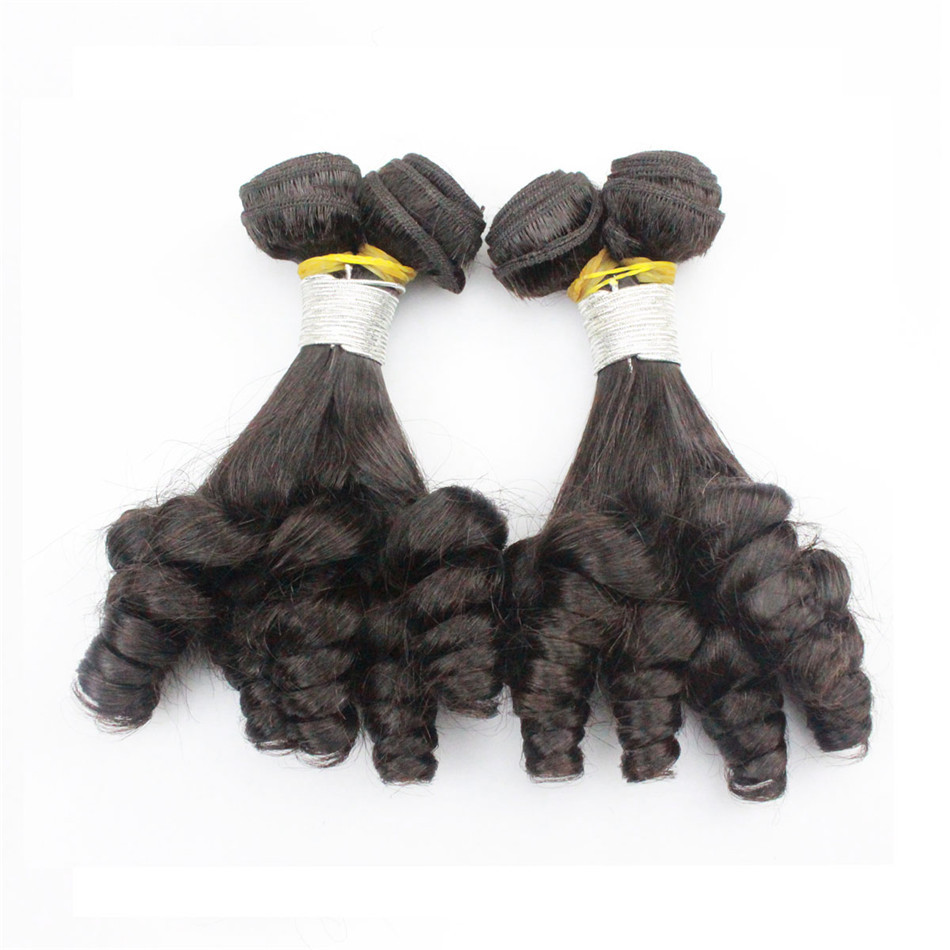 Top Best Quality Unprocessed fascination spring curl Virgin indian aunty fumi human hair bouncy curls