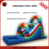 China Factory Direct Competitive Low Price Best Quality Giant 10*3*5M Inflatable Water Slide For Kids and Adults
