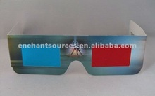 cheap 3d active shutter glasses/paper frame/customized logo