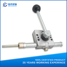 GJ1130 construction machinery push pull throttle control lever for vibro-rammer, bulldozer and road roller