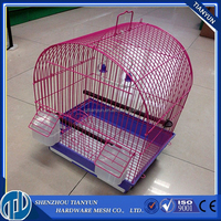 alibaba anping factory cheap galvanized stainless steel large chinese bird breeding cage wire mesh panels