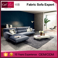 Modern new design fabric sofa , living room fabric sofa sets